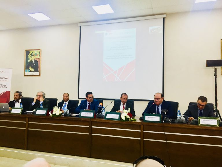 "Rabat :  Conference on extremism, globalization and ""post-narrative"" History"