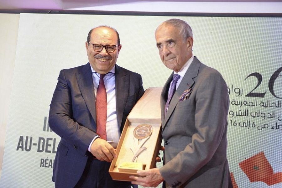 أمسية تكريمية في ختام مشاركة مجلس الجالية المغربية بالخارج في معرض الكتاب