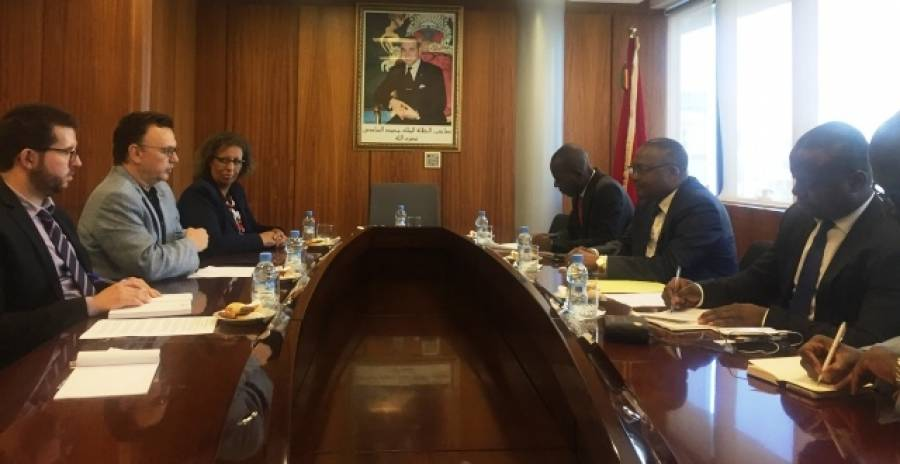 وفد من جهورية الكونغو يطلع على تجربة مجلس الجالية المغربية بالخارج