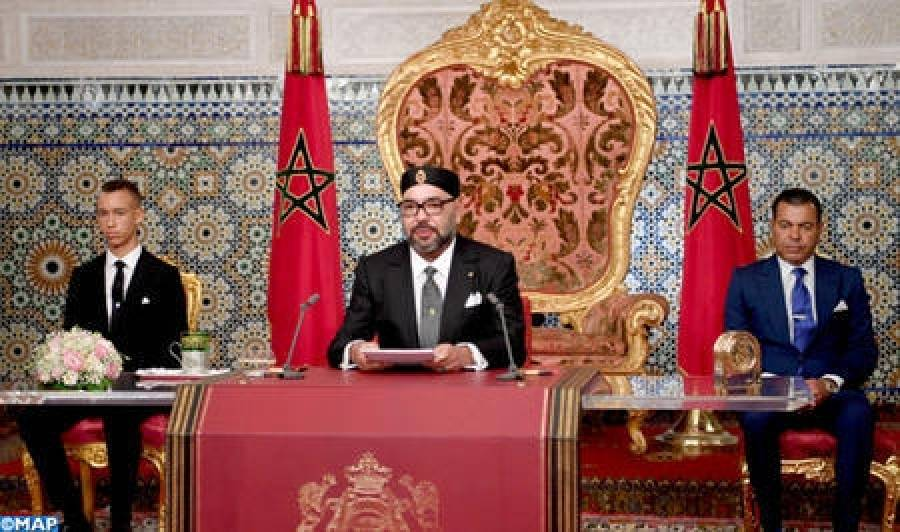 Rabat : Royal Speech on 65th Anniversary of the Revolution of the King and the People