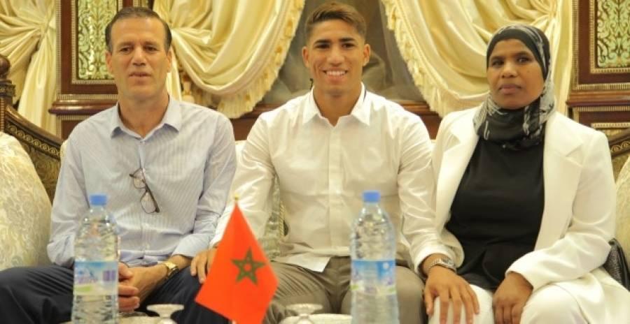تكريم لاعب المنتخب الوطني ونادي ريال مدريد أشرف حكيمي بتطوان