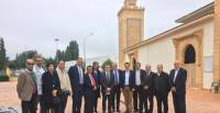 France : Pictural expo on the living together at the Great Mosque of Saint-Étienne