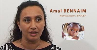 Amal Bennaim, the Moroccan Nutritionist working with UNICEF