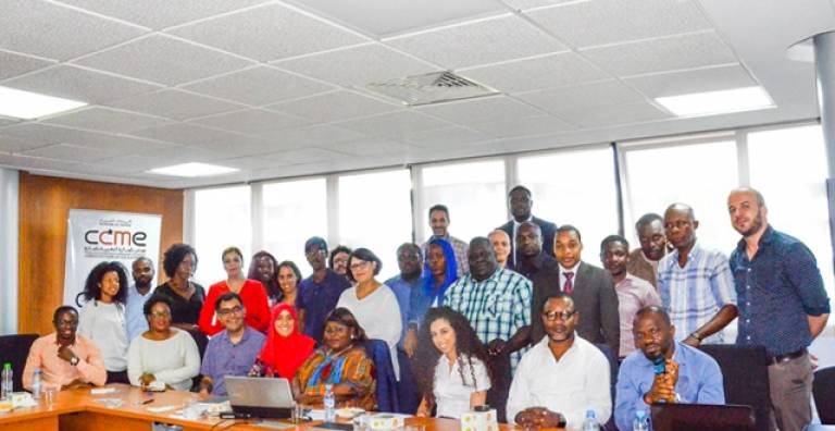 African Diaspora Associations from Europe and Morocco hosted by the CCME