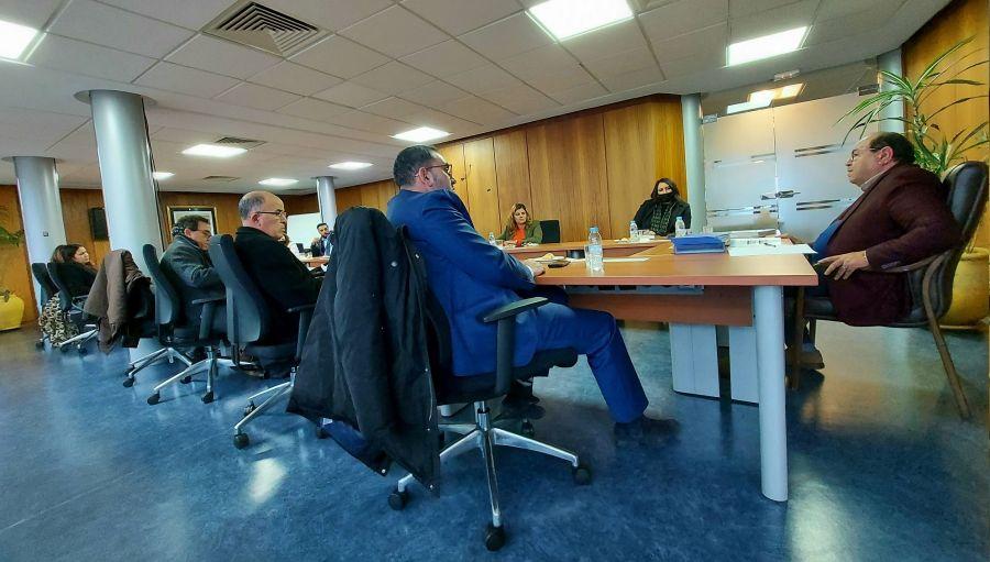 وفد عن تمثيليات حزبية مغربية في أوروبا يزور مجلس الجالية المغربية بالخارج