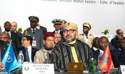 Message of HM the King to 5th African Union-European Union Summit in Abidjan