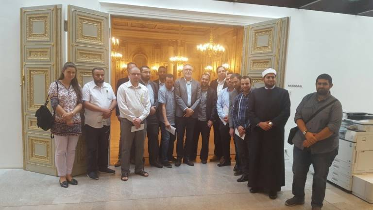 Germany: A delegation of imams in the Parliament of Hessen