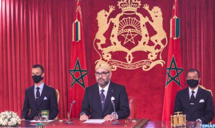 Discours Royal à l'occasion du 67-ème anniversaire de la Révolution du Roi et du Peuple