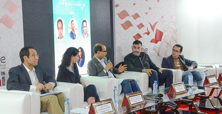 Meeting : culture of origin in the litterary works of Moroccans living abroad