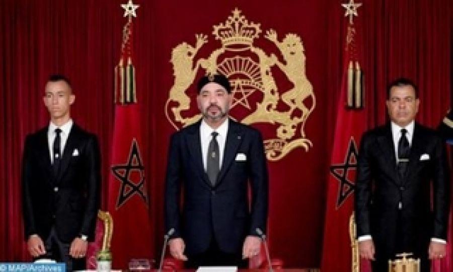 Sa Majesté le Roi adresse un discours à la Nation à l'occasion du 66-ème anniversaire de la Révolution du Roi et du Peuple (texte intégral)