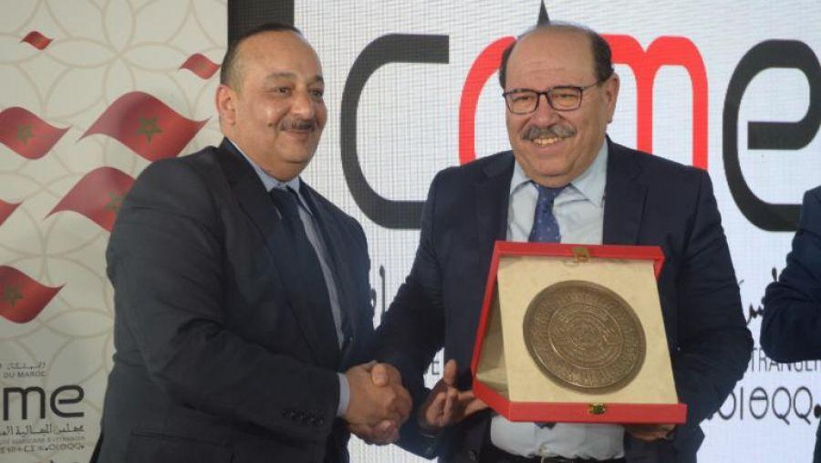 وزير الثقافة والاتصال يكرم الدكتور عبد الله بوصوف