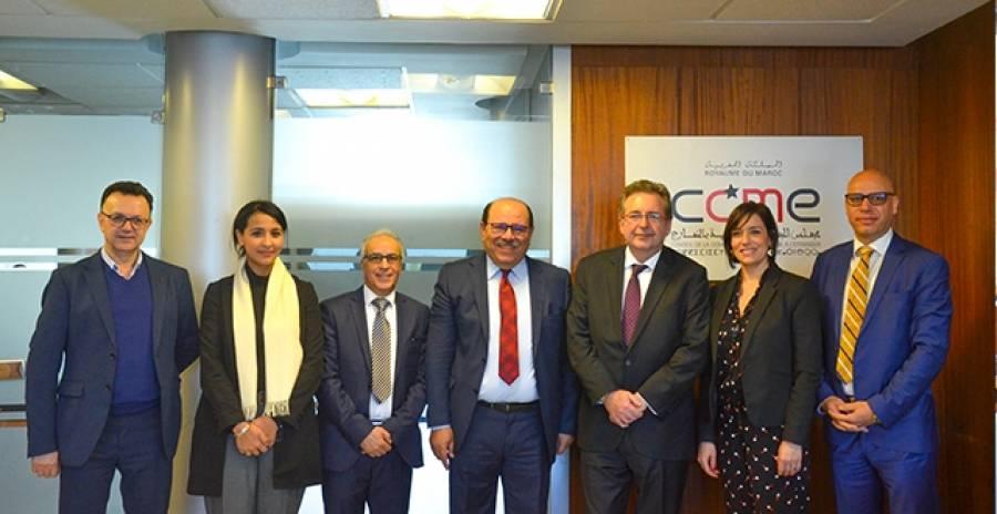 وفد بلجيكي يناقش قضايا الهجرة والثقافة والدين بمجلس الجالية المغربية بالخارج