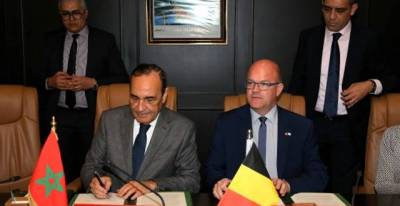 Rabat : The Moroccan and the Wallonia-Brussels Parliaments sign a memorandum of understanding