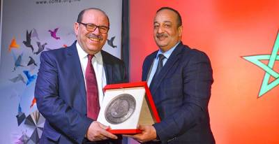 The CCME awarded by the minister of culture at the international Casablanca book fair