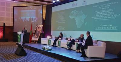 Marrakech : Opening of the international symposium on climate changes in Africa