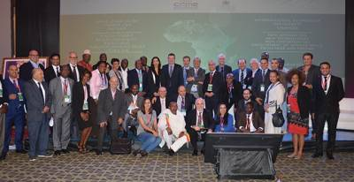 The conclusion of the International Symposium on climate changes in Africa