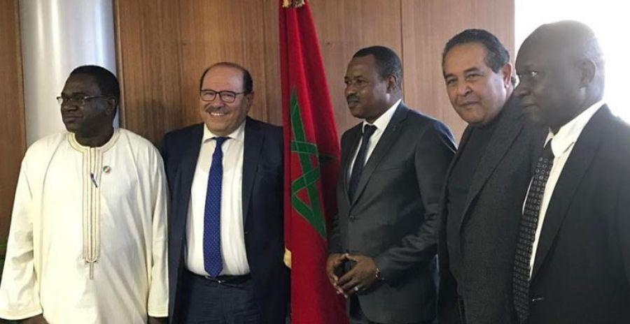 وفد مالي في زيارة لمجلس الجالية المغربية بالخارج لبحث التعاون في مجال الهجرة